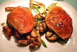Dunguess Crab!  It is seasonal, so do not miss it.